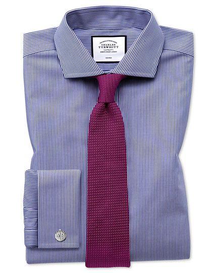 Cravate de luxe rose en grenadine de soie italienne
