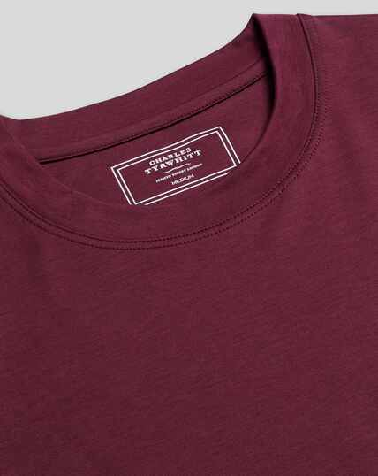 Cotton Tyrwhitt T-Shirt - Wine
