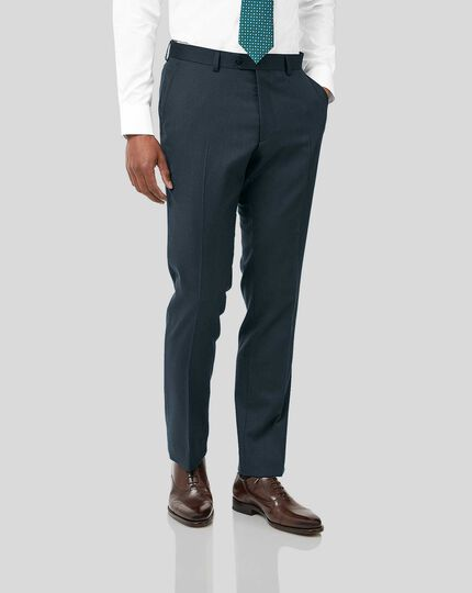 Twill Business Suit - Teal