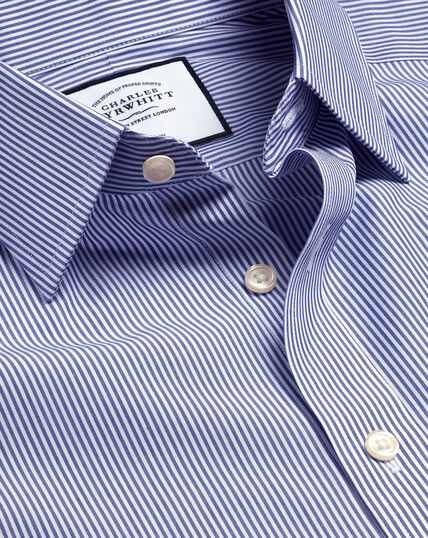 Non-Iron Bengal Stripe Shirt - Navy