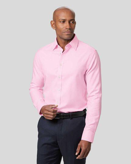 Non-Iron Twill Shirt - Pink