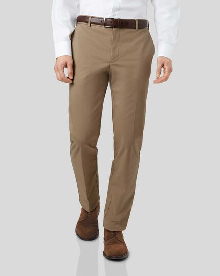 Smart Non-Iron Chinos - Fawn