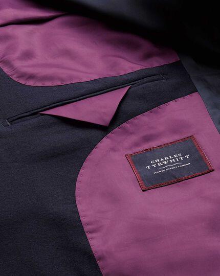 Extra slim fit navy city blazer