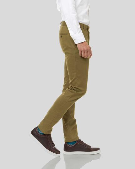 Ultimate Non-Iron Chinos - Moss Green
