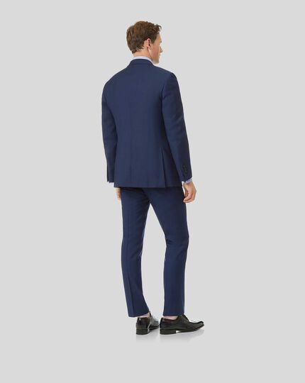 Herringbone Suit - Royal Blue