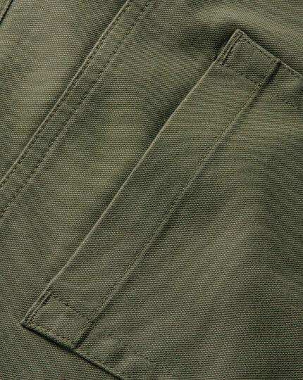 Olive slim fit 5 pocket Pants