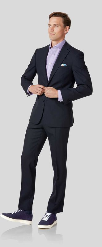 Business Merino Suit - Midnight Blue