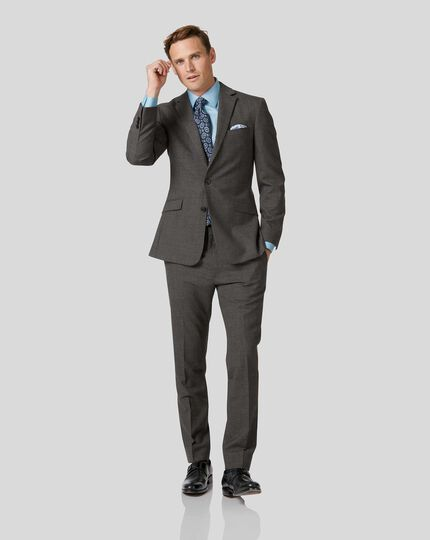Business Merino Suit - Grey