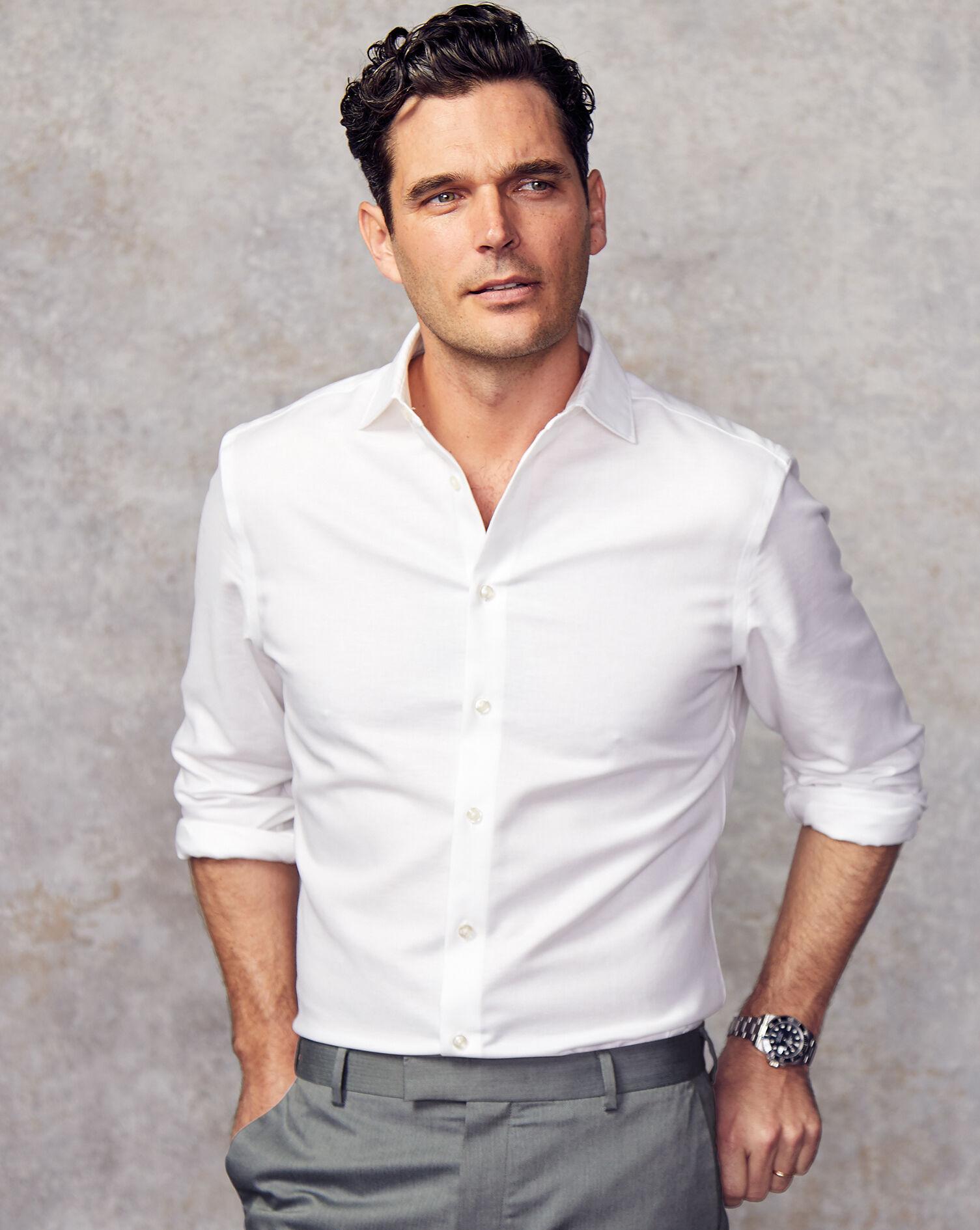 Business Casual Collar Non-Iron Cotton