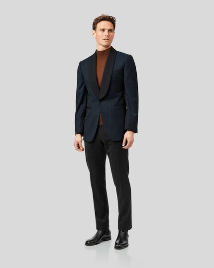 Shawl Collar Tuxedo - Teal