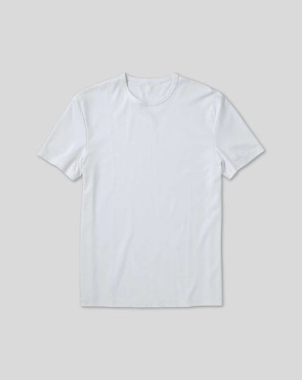 Smart Jersey Tyrwhitt T-Shirt - White