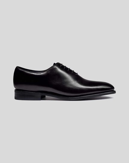 Goodyear Welted Wholecut Performance Shoe - Black