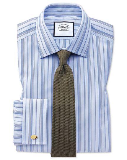 Brown silk grenadine Italian luxury tie