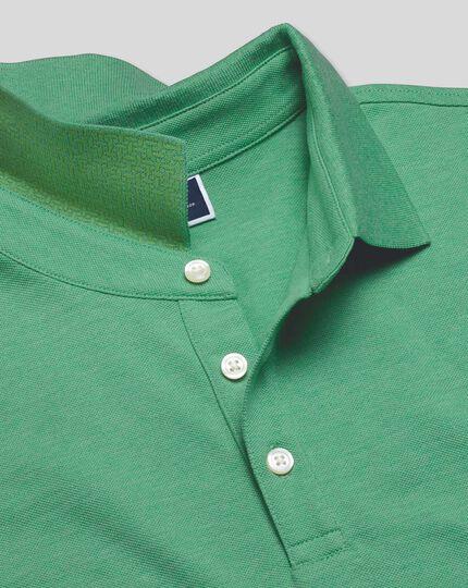 Tyrwhitt Pique Polo - Bright Green Marl