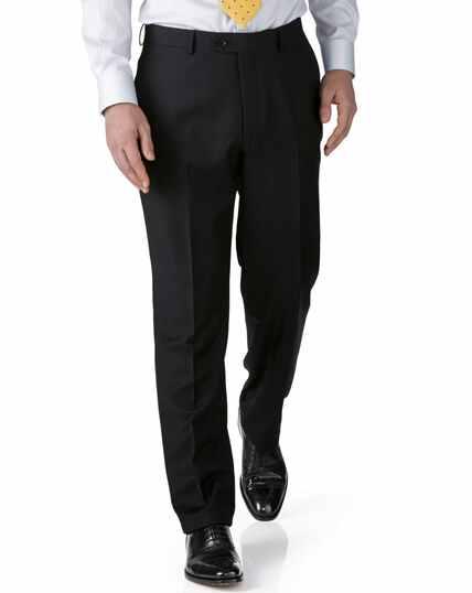 Pantalon de costume business noir en twill extra slim fit