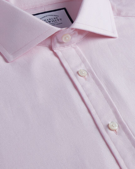 Spread Cotton Stretch With Tencel™ Shirt - Pink