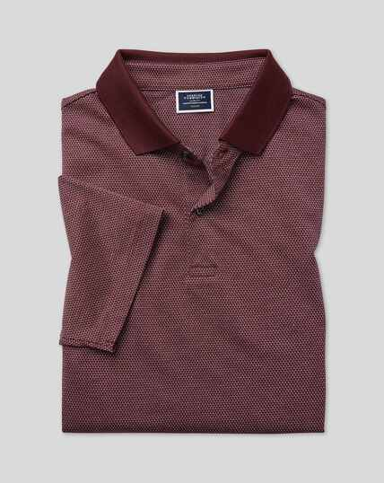 Polo Tyrwhitt Cool - Bordeaux
