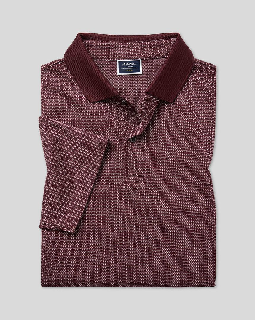 Tyrwhitt Cool Polo - Wine