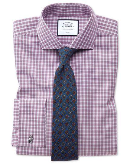Royal blue wool medallion print Italian luxury tie