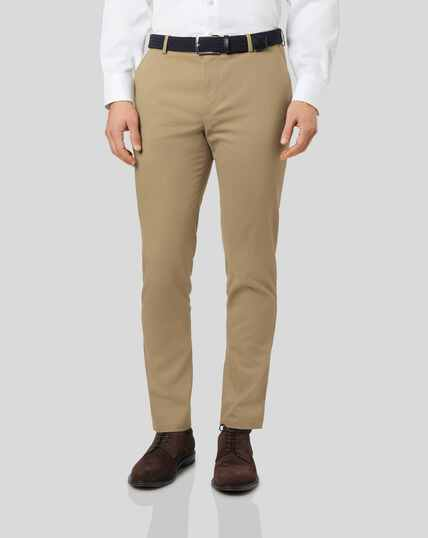 Ultimate Non-Iron Chinos - Tan