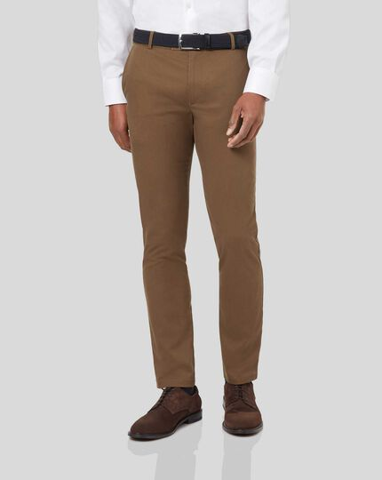 Ultimate Non-Iron Chinos - Camel