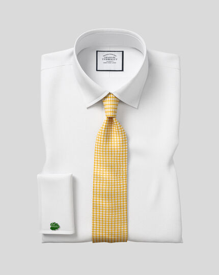 Silk Tie - Yellow