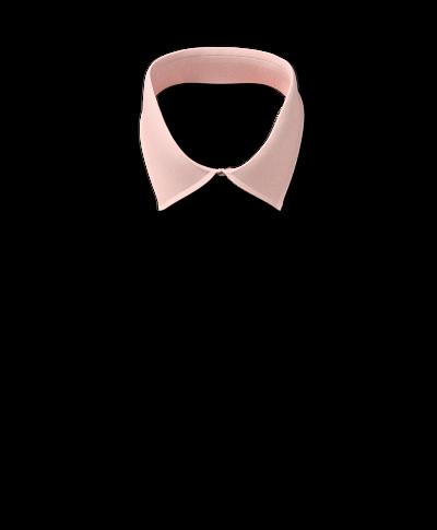 Classic Collar Non-Iron Micro Diamond Shirt - Peach
