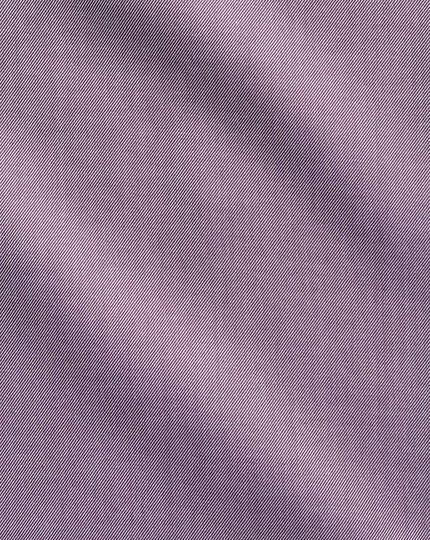 Bügelfreies Slim Fit Twill-Hemd in Dunkelviolett