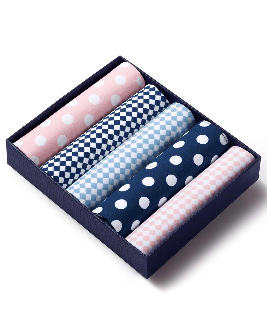 Coffret de mouchoirs - Multicolore