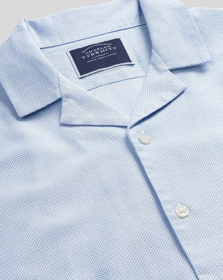 Short Sleeve Resort Shirt - Sky