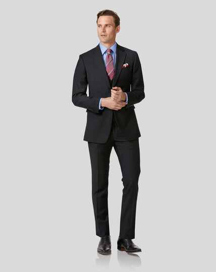 Twill Business Suit - Black