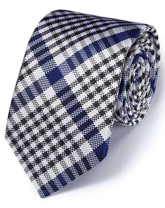 Royal silk English luxury end-on-end tie