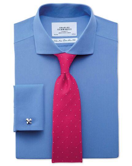 Dark pink silk classic textured dash tie