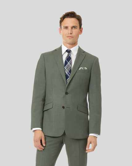 Merino Suit Jacket - Green
