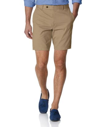 Short chino brun clair