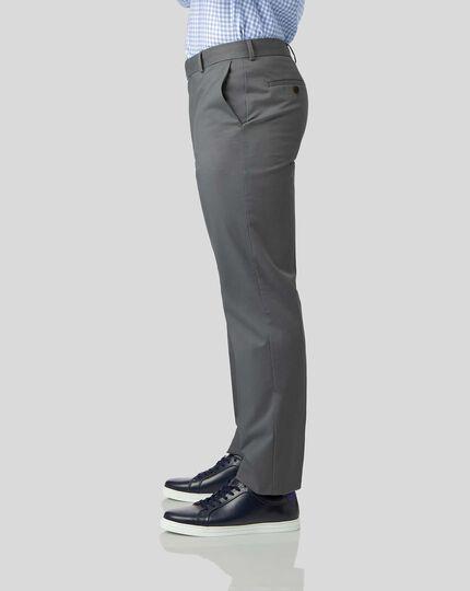 Non-Iron Chinos - Grey