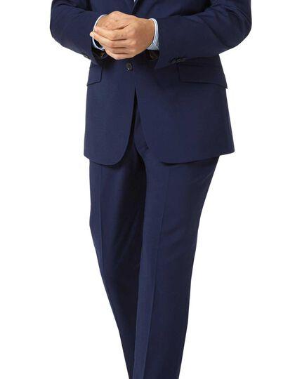 Slim Fit Performance-Anzug-Sakko in Königsblau