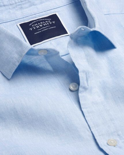 Linen Shirt - Sky