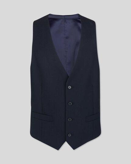 Business Suit Vest - Midnight Blue