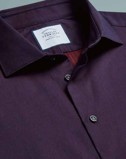Micro Diamond Shirt - Purple