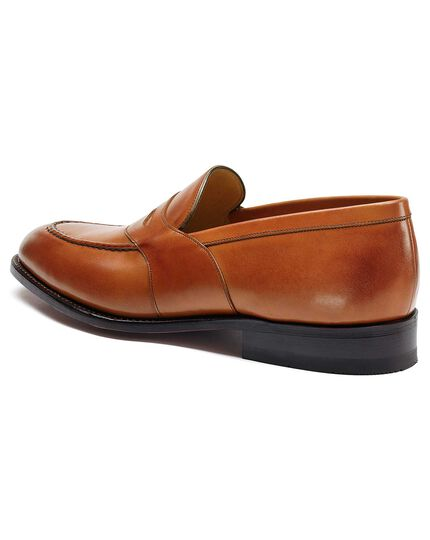 Tan Allet loafers