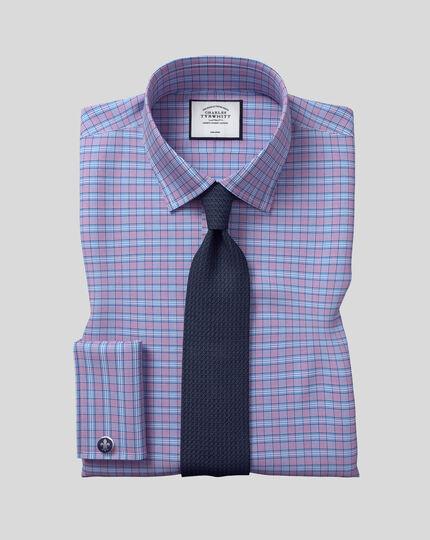 Cravate de luxe en soie grenadine italienne - Bleu marine