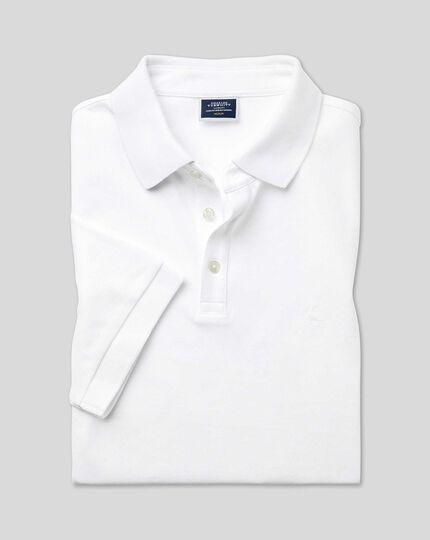 Tyrwhitt Pique Polo - White