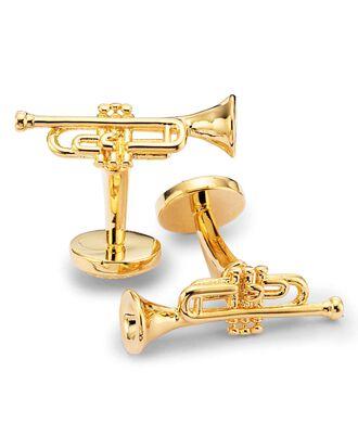 Manschettenknöpfe mit Trompete