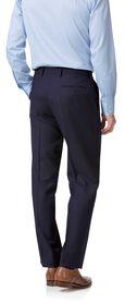 Classic Fit Business Anzug aus Twill in Marineblau