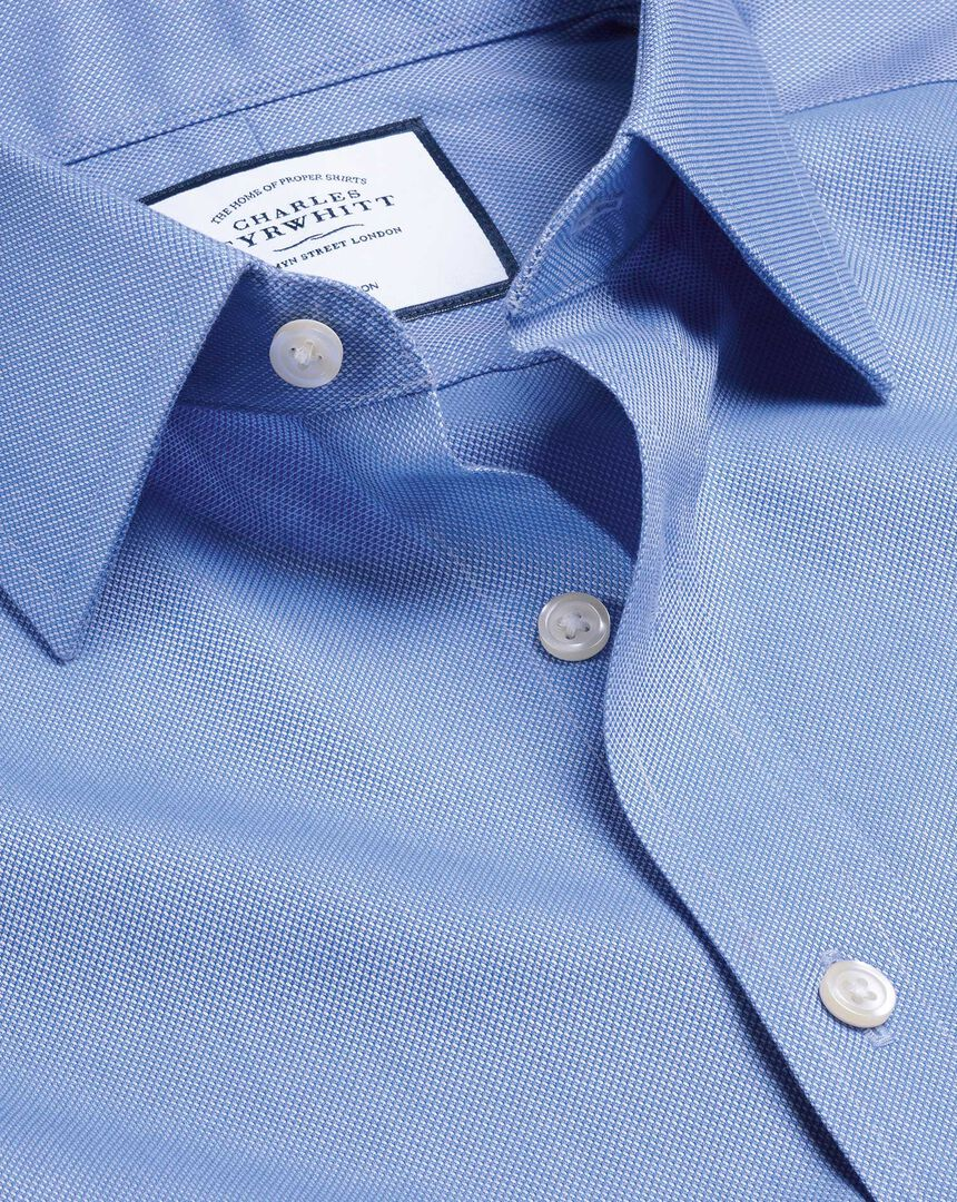 Non-Iron Royal Oxford Shirt - Blue