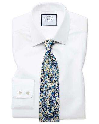 Classic fit Egyptian cotton royal Oxford white shirt