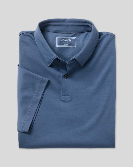 Smart Jersey Polo - Blue