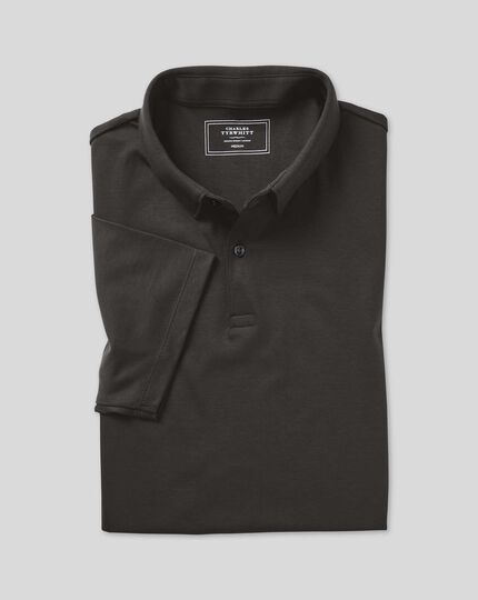 Smart Jersey-Polo - Anthrazit