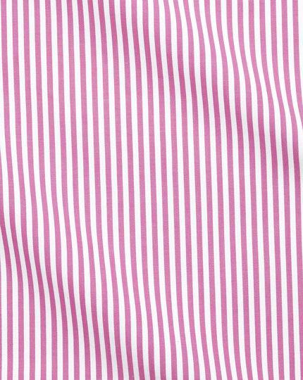 Slim Fit Hemd mit Bengal-Streifen in Rosa